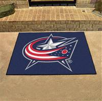 "Columbus Blue Jackets All-Star Mat, 34"" x 45"""