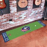 Columbus Blue Jackets Putting Green Mat