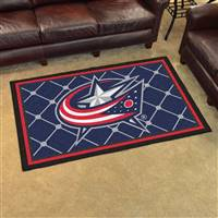 Columbus Blue Jackets 4x6 Area Rug