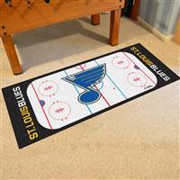 "St Louis Blues NHL Rink Runner Mat, 30""x72"""