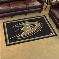 Anaheim Ducks 4x6 Area Rug