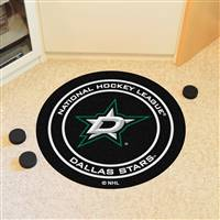 "Dallas Stars Puck Mat, 29"" Diameter"