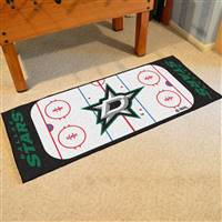 "Dallas Stars NHL Rink Runner Mat, 30""x72"""