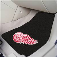 Detroit Red Wings 2-pc Printed Carpet Car Mat Set
