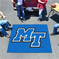 "Middle Tennessee State (MTSU) Blue Raiders Tailgater Rug 60""x72"""