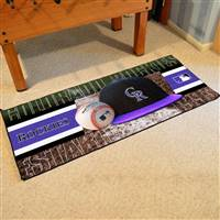 "Colorado Rockies Runner Mat 30""x72"""