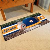 "Houston Astros Runner Mat 30""x72"""