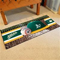"Oakland Athletics Runner Mat 30""x72"""