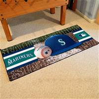 "Seattle Mariners Runner Mat 30""x72"""