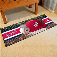 "Washington Nationals Runner Mat 30""x72"""