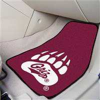 "Montana Grizzlies 2-piece Carpeted Car Mats 18""x27"""