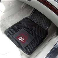 "Montana Grizzlies Heavy Duty 2-Piece Vinyl Car Mats 18""x27"""