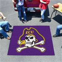 "East Carolina Pirates Tailgater Rug 60""x72"""