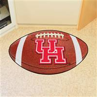 "Houston Cougars Football Rug 22""x35"""