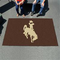 "Wyoming Cowboys Tailgating Ulti-Mat 60""x96"""