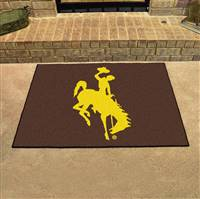 "Wyoming Cowboys All-Star Rug 34""x45"""