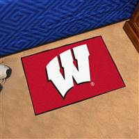 "Wisconsin Badgers Starter Rug 20""x30"""
