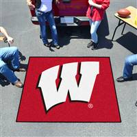 "Wisconsin Badgers Tailgater Rug 60""x72"""