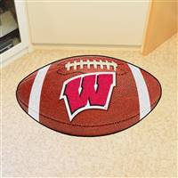 "Wisconsin Badgers Football Rug 22""x35"""