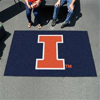 "Illinois Fighting Illini Tailgating Ulti-Mat 60""x96"""