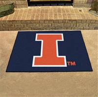 "Illinois Fighting Illini All-Star Rug 34""x45"""