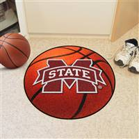 "Mississippi State Bulldogs Basketball Rug 29"" diameter"
