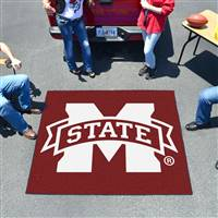 "Mississippi State Bulldogs Tailgater Rug 60""x72"""