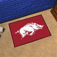 "Arkansas Razorbacks Starter Rug 20""x30"""