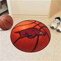 "Arkansas Razorbacks Basketball Rug 29"" Diameter"
