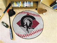"Arkansas-Little Rock Trojans Baseball Rug 29"" Diameter"