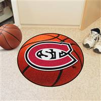 "St. Cloud State Huskies Basketball Rug 29"" diameter"