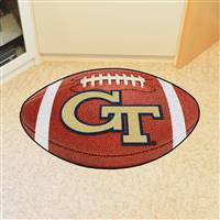 "Georgia Tech Yellow Jackets Football Rug 22""x35"""