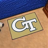 "Georgia Tech Yellow Jackets Starter Rug 20""x30"""