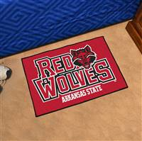 "Arkansas State Red Wolves Starter Rug 20""x30"""