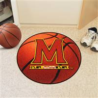 "Maryland Terps Basketball Rug 29"" diameter"