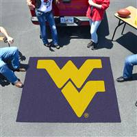 "West Virginia Mountaineers Tailgater Rug 60""x72"""