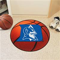 "Duke Blue Devils Round Basketball Rug 29"" diameter"