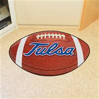 "Tulsa Golden Hurricane Football Rug 22""x35"""