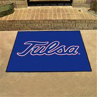 "Tulsa Golden Hurricane All-Star Rug 34""x45"""