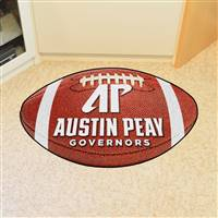 "Austin Peay State Governors Football Rug 22""x35"""