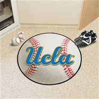 "UCLA Bruins Baseball Rug 29"" diameter"