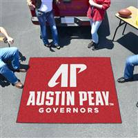"Austin Peay State Governors Tailgater Rug 60""x72"""