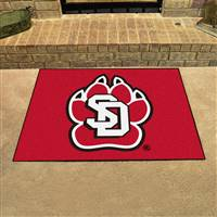 "South Dakota Coyotes All-Star Rugs 34""x45"""