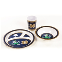 Notre Dame Fighting Irish Kid's 3 Pc. Dish Set
