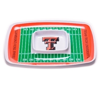 Texas Tech Red Raiders Chip & Dip Tray