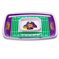 East Carolina Pirates Chip & Dip Tray