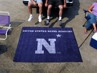 "US Naval Academy Tailgater Rug 60""x72"""