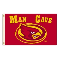 Iowa State Cyclones Man Cave 3 Ft. X 5 Ft. Flag W/ 4 Grommets