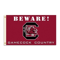 South Carolina Gamecocks 3 Ft. X 5 Ft. Flag W/Grommets - Country