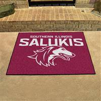 "Southern Illinois Salukis All-Star Rug 34""x45"""